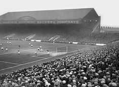 Main Stand, Maine Road 1936 Manchester City v. Portsmouth - #Manchester City Quiz - #MCFC