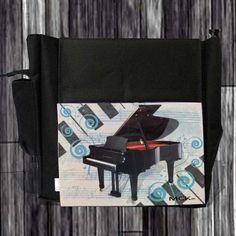 Dseño orgánico que resalta la grandeza del piano.