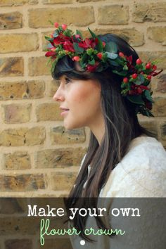 Flower Crown Tutorial: With flowers from The Great British Florist