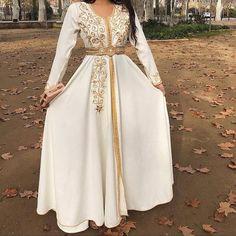 Arab Fashion, Muslim Fashion, Modest Fashion, Fashion Dresses, Punk Fashion, Lolita Fashion, Moroccan Kaftan Dress, Caftan Dress, Morrocan Wedding Dress