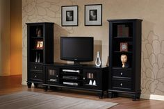 Casual Black Wood 59?€� Tvconsole