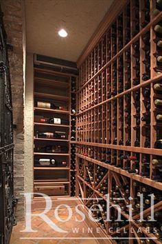 Beautiful custom #wine cellar #winestorage