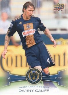 2012 Upper Deck MLS Soccer #153 Danny Califf Philadelphia Union Trading Card by Upper Deck MLS. $1.99. 2012 Upper Deck Co. trading card in near mint/mint condition, authenticated by UpperDeck