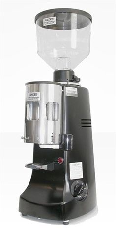 Mazzer Robur Low RPM Commercial Burr Grinder - Black