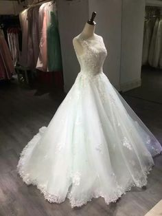 Wedding Dress,Wedding Gown,Bridal Gown,Bride Dresses, Ivory Wedding Dress,Long