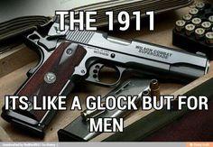 Colt 1911 pistol, doesn't matter if Colt, Sig, or Kimber (besides, Wilson above ALL) a true kickass gun! 1911 Pistol, Colt 1911, Sig 1911, Kimber 1911, Weapons Guns, Guns And Ammo, Glock Guns, Airsoft, Snipers