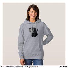 Shop Black Labrador Retriever Shirt created by Bretsuki. Comfy Hoodies, Hooded Sweatshirts, Fleece Hoodie, Pullover, Panther, Thin Blue Lines, Comfortable Outfits, Graphic Sweatshirt, Hoodie Sweatshirts