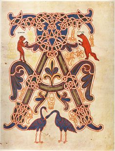Blogging About Design: Illuminated Manuscript
