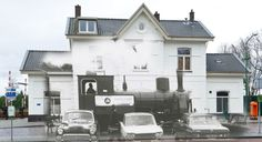 Then and Now: Station Zevenbergen