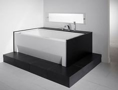 "Neptune Zora 3260 Activ-Air Tub With Skirt - 59-3/4"" x 31-7/8"" x 18""- ZO3260A #BlondyBathHome  #BathroomRemodel #BathtubIdeas #AlcoveBathtub"
