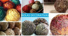 Bolas decorativas http://coletaneaideias.blogspot.com.br/