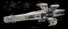 "retrosci-fi: "" ""U. Space Navy Haruna Class Planetary Assault Platform by Prog Wang"" ~Imaginary Technology "" Spaceship Art, Spaceship Design, Arte Sci Fi, Sci Fi Art, Concept Ships, Concept Art, Stargate, Starship Concept, Sci Fi Spaceships"