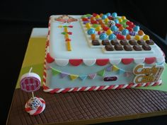 Candy crush cake. SOOOO obsessed with this game!!!