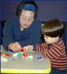 Help students comprehend abstract content and ideas in written materials by using manipulatives. Manipulatives are physical play materials that children hold, stack, and sort such as blocks, plastic shapes, LEGOs, Lincoln logs, and more.