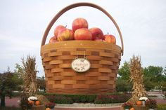 Longaberger Homestead (Apple basket) in Ohio