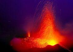 Vulkanausbruch: Sizilien - Stromboli, Ätna