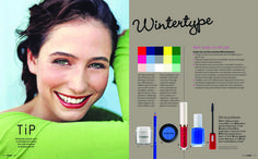 winter clear colors | ... , sometimes almost black, but others are clear blond, greyor white