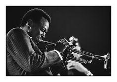 Miles Davis - Milano, 1964 (Photo by Roberto Polillo)