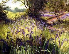 mary dipnall art | Mary Dipnall - Bluebell Time