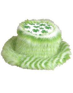 St. Patricks Day Irish Fuzzy Pimp Shamrock Bucket Hat « Impulse Clothes