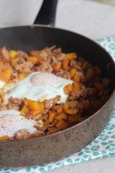 PaleOMG – Paleo Recipes – Simple Chorizo Butternut Squash Hash (Grain-free & Gluten-free)