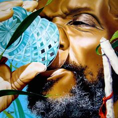 """Lester Cadalso has a great mastery of painting techniques. ""El bebedor de ron"" is one of his masterpieces Cuban Art, Caribbean Art, Painting Techniques, Black Art, Illustration, Inspiration, Beauty, Cartoon, Inspired"