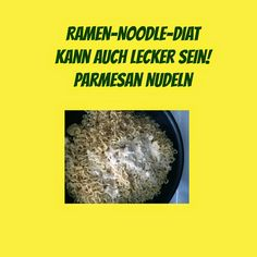 USA billig aber gut leben: Ramen-Noodle-Diaet Parmesan Nudeln