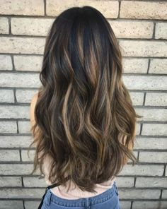 Super hair color cambio de look 46 ideas Super hai+ Brunnete Hair Color, Hair Color Highlights, Hair Colours, Tiger Eye Hair Color, Brown Hair Looks, Super Hair, Brunette Hair, Balayage Hair, Gorgeous Hair