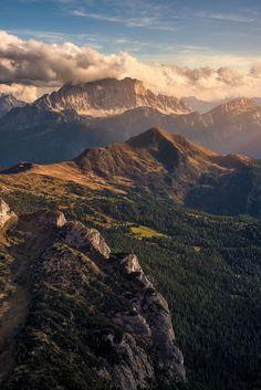 etherealvistas: Mt. Civetta (Italy) by Mattia Dattaro || Facebook