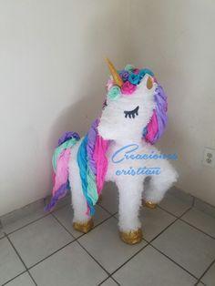 #piñata #unicornio sólo en #creacionescristian