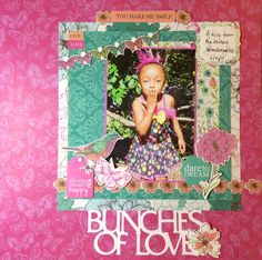 Bunches+of+Love - Kaisercraft - Fly Free Collection