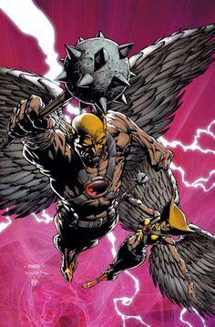 Hawkman and Hawkgirl - David Finch