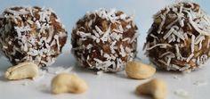 Holiday Cashew Balls That Will Satisfy Sugarholics (Gluten-Free & Vegan)