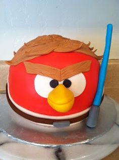 Ollie Lane: Angry Birds Star Wars Cake