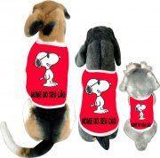 Cãomiseta Snoopy : Cãomiseta Snoopy=>> http://www.bompracachorro.com/p-1-7-1…/Caomisetas--Snoopy-01- | camisetasdahora