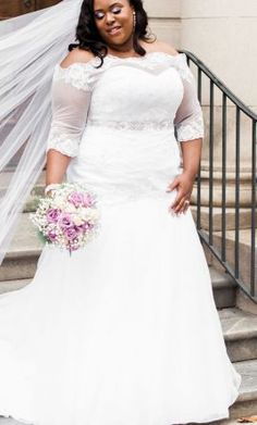 David's Bridal wedding dress currently for sale at 0% off retail.