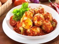 Resep  Masakan Telur Balado Pedas Manis