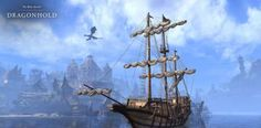 Screenshots - The Elder Scrolls Online Age Verification, Elder Scrolls Online, Sailing Ships, Boat, Dinghy, Boats, Sailboat, Tall Ships, Ship