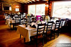 These two lovebirds got married in the middle of the winter and it couldn't be more beautiful! Twin Owls Steakhouse is located in Estes Park, Colorado!