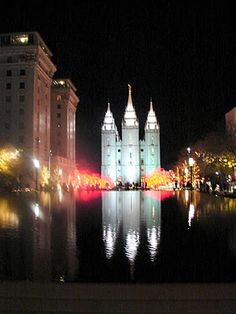 Temple Square Christmas 2011