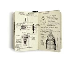 Classic Architecture Studies by Chema Pastrana, via Behance