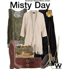 Inspired by Lily Rabe as Misty Day on American Horror Story: Coven.