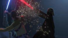 Darth Vader vs Kanan.