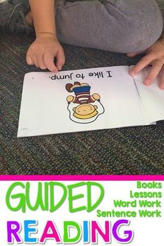 Guided Reading SIX leveled readers... printable books, lesson plans, word work and more! This resource includes everything you need to conduct small guided reading groups with your Level E readers.  This includes: *SIX level E readers {3 fiction and 3 non