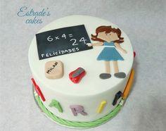 Estrade's cakes: tarta para una maestra.