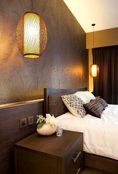 Asian Inspired Bedrooms: Design Ideas, Pictures Part 72