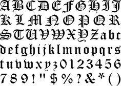 gothic texture alphabet: 12 тыс изображений найдено в Яндекс.Картинках