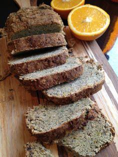 Paleo zucchini bread - grain free, dairy free, nut free, sugar free, egg free