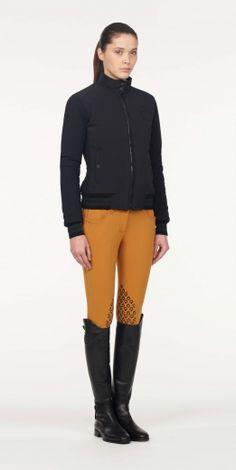 Cavalleria Toscana Horsewoman bomber jacket in black