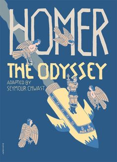 Homer, Chwast, and The Odyssey on http://imprint.printmag.com